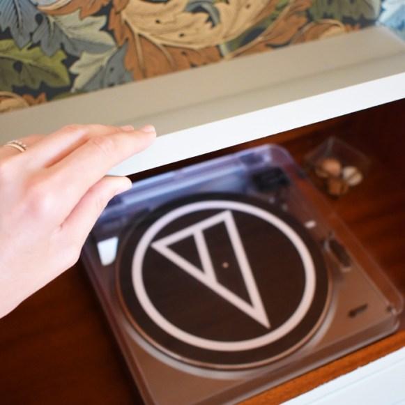 Un meuble vinyle