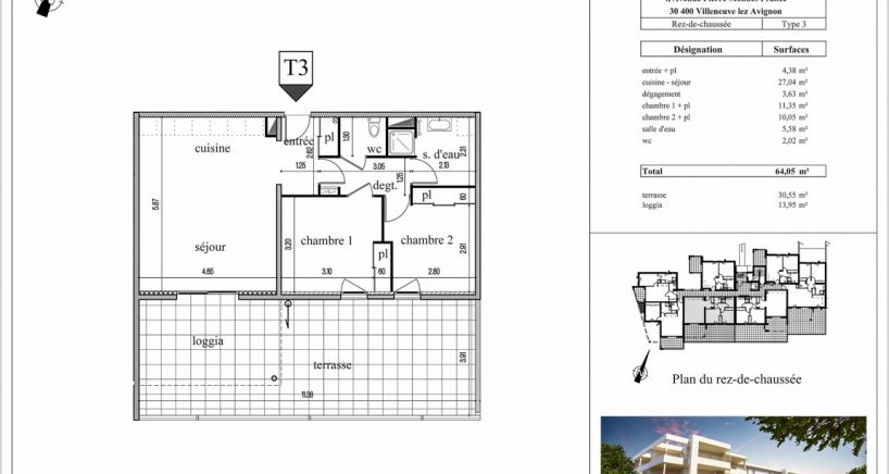 real estate Villeneuve les avignon, buy and sell Flat
