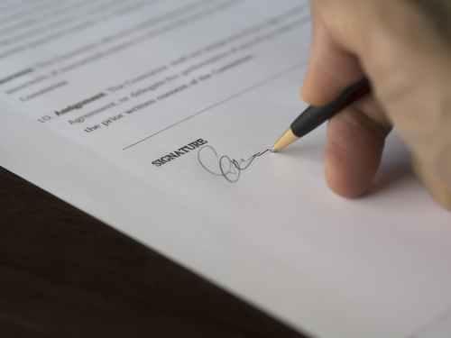 Rédaction et signature de l'état des lieux