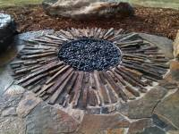 In Ground Fire Pit Diy   A Creative Mom