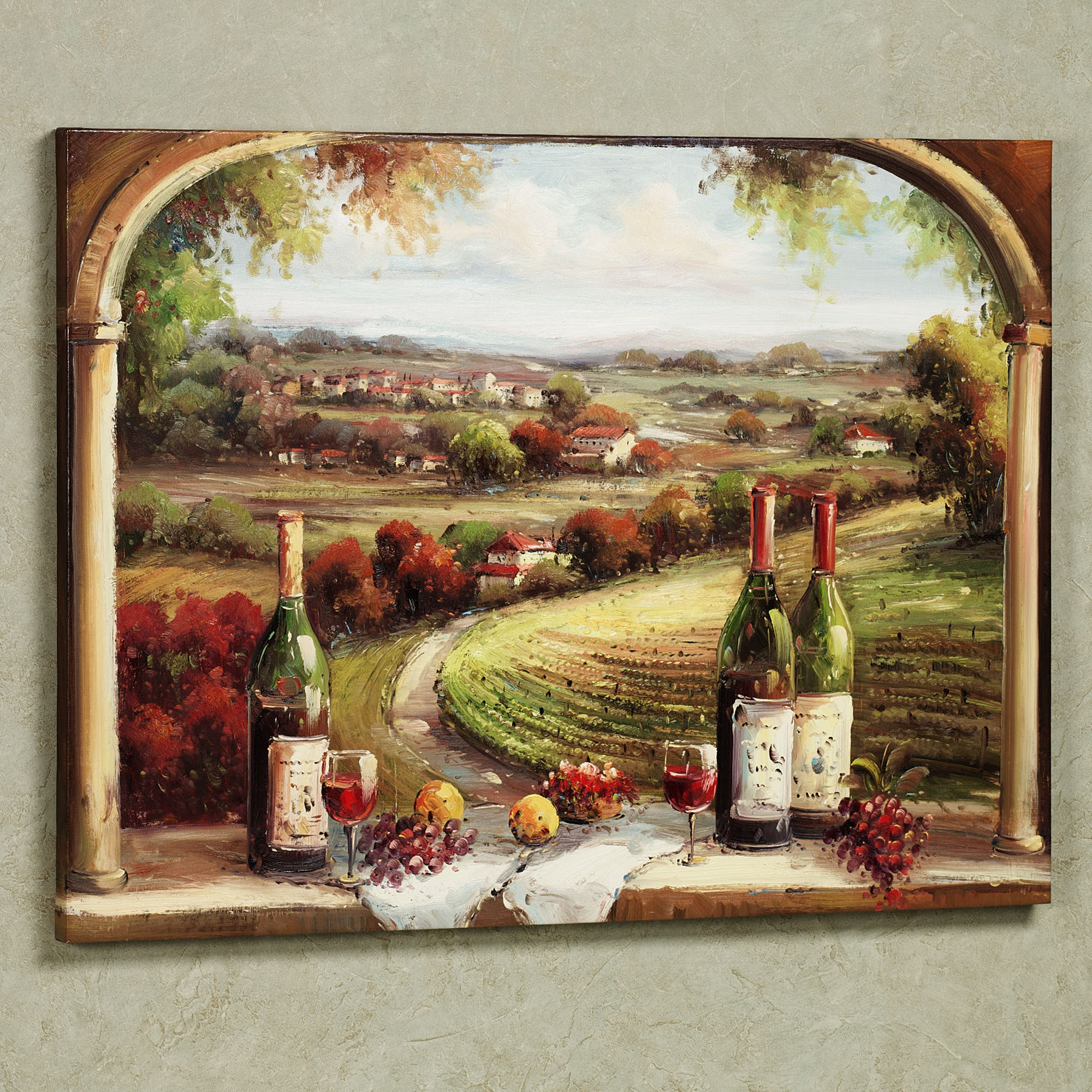 vineyard kitchen decor ezr degreaser tasteful ideas for wine décor a creative mom