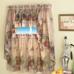 Kitchen Curtains Ideas Faucet Sprayer Wine A Creative Mom