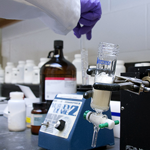 Prommune, a company founded on the research of UNMC's Sam Sanderson, Ph.D., is building a vaccine that could protect pigs from H1N1. A test in Aug. 2015 is expected to prove the vaccine's effectiveness, and could lead to other vaccines in other animals and perhaps even humans.