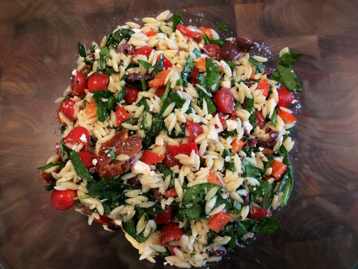 Salade de pâtes «pimpée»