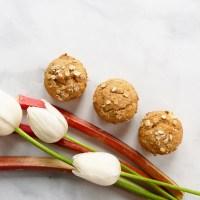 Muffins à la rhubarbe et à l'orange