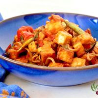 Tofu au ketchup (végétalien)