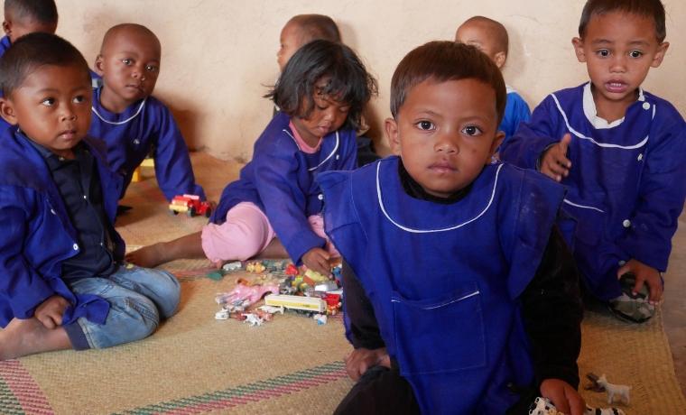 Madagascar : 2 salles de classes pour l'école Antsaonjobe !