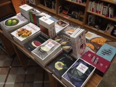 Menu Fretin à la librairie