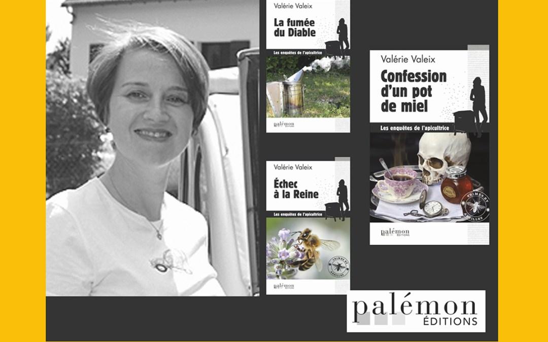 Samedi 7 avril de 15h à 18h, dédicace de polars et dégustation de miel avec Valérie Valeix !