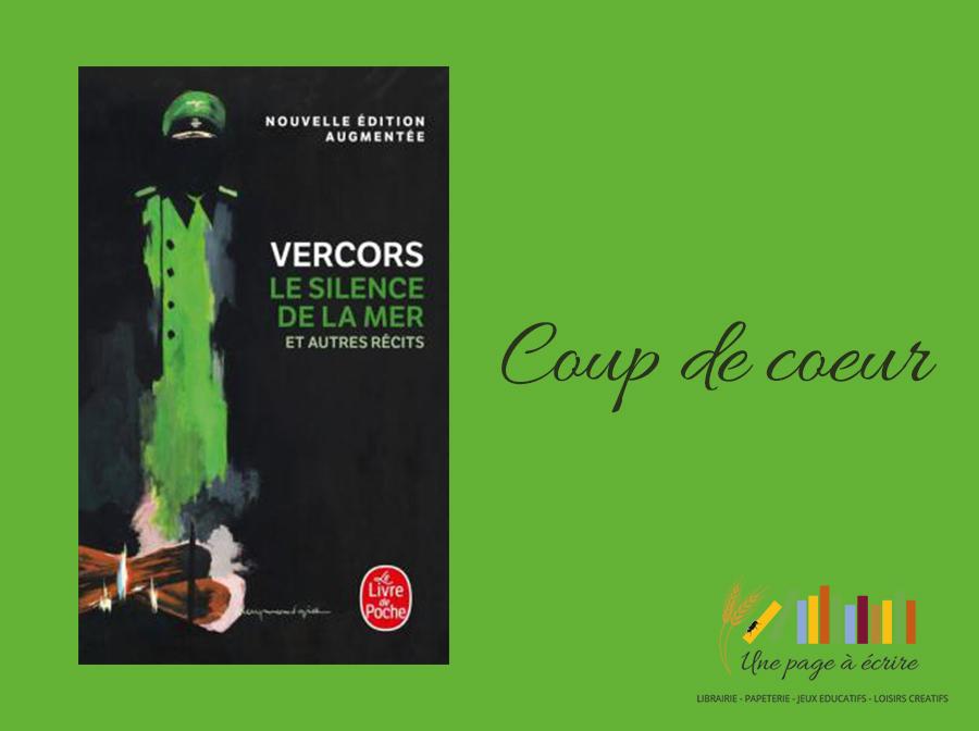 Vercors, Le silence de la mer, nouvelle édition poche, (2018)