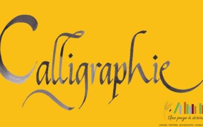 Atelier Calligraphie samedi 24 octobre 2020 de 10h à 12h