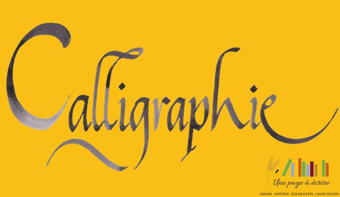 Ateliers de calligraphie gratuits à 9h et à 15h | Samedi 1er septembre 2018