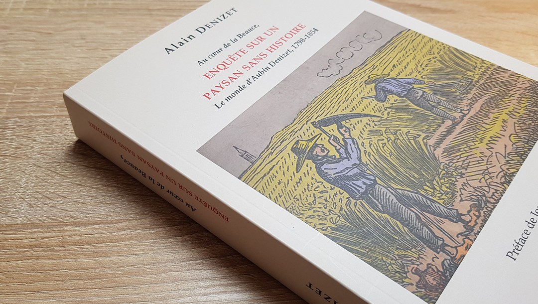 Alain Denizet, conférence « Au coeur de la Beauce : enquête sur un paysan sans histoire » samedi 2 mars à 16h30