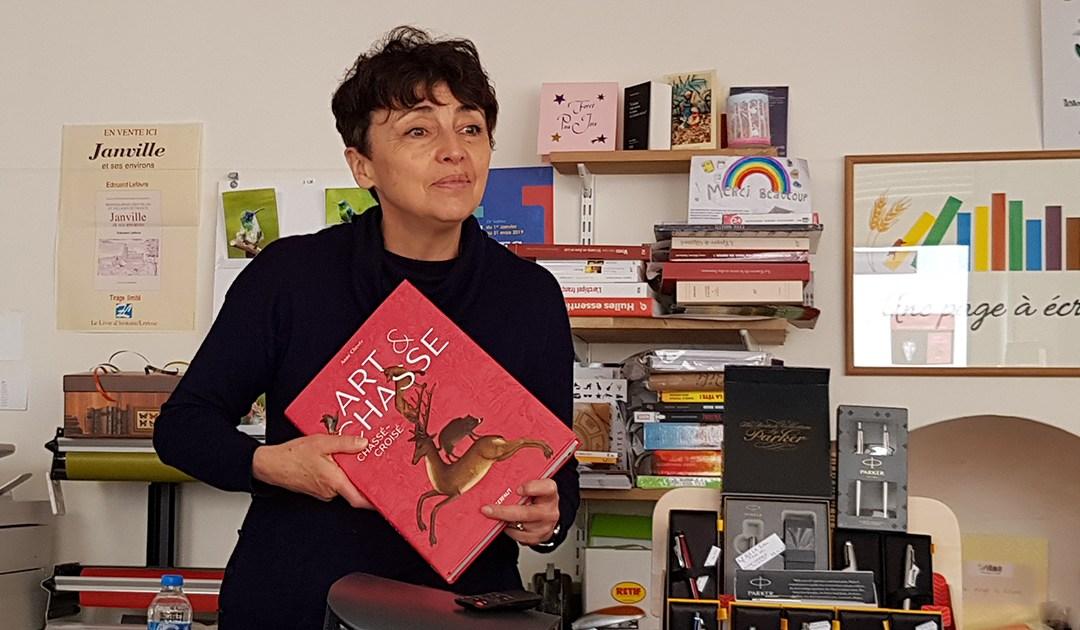 Art & Chasse, chassé-croisé : extrait vidéo de la conférence d'Anne Chevée