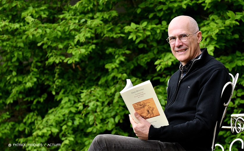 5 questions à Alain Denizet, auteur du «Roman vrai du curé de Châtenay»