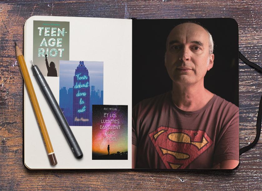 « Je me sens libre lorsque j'écris » – Entretien avec Eric Pessan sur ses romans pour la jeunesse