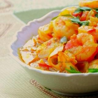 Crevettes épicées (Chingri Maach)