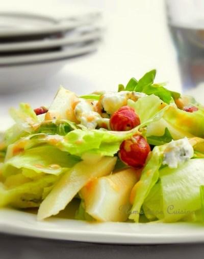salade poire gorgonzola1