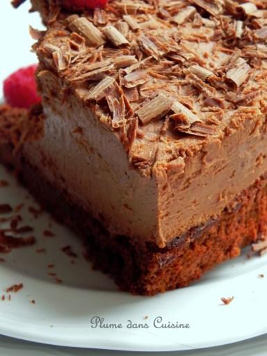 G teau mousse au chocolat tout fait exquis une plume for Aux beaux rivages la cuisine