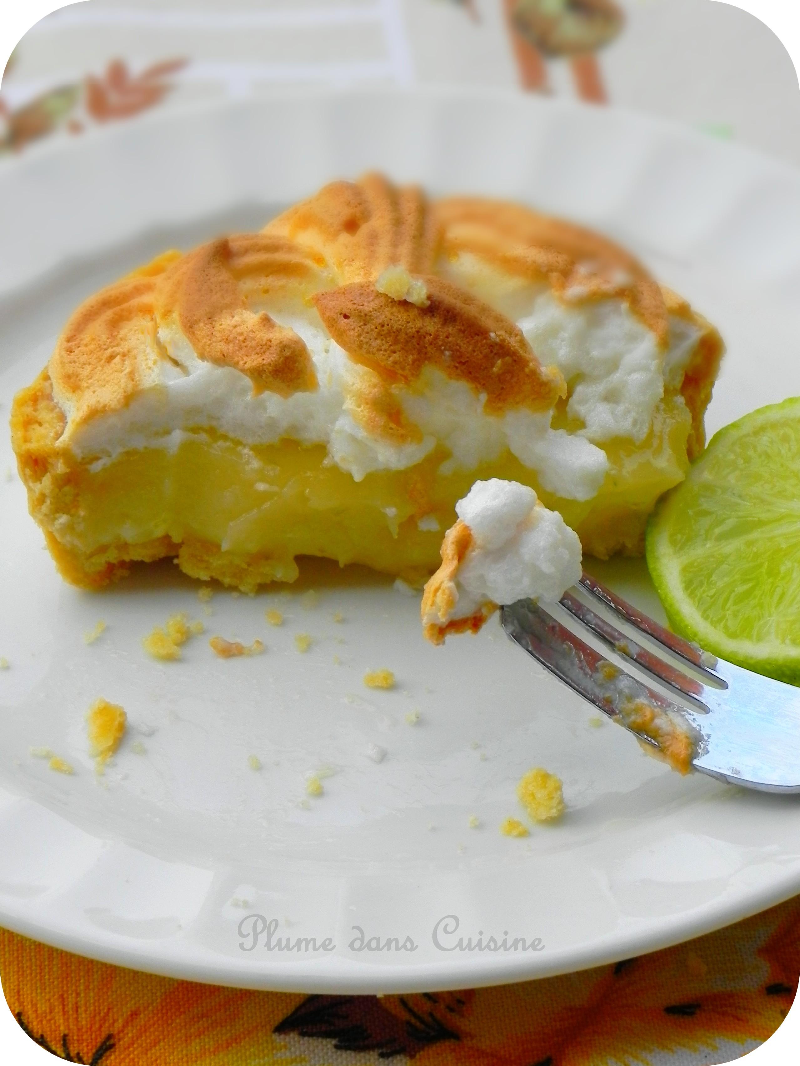 Tarte au citron meringu e une plume dans la cuisine - Tarte au citron meringuee herve cuisine ...