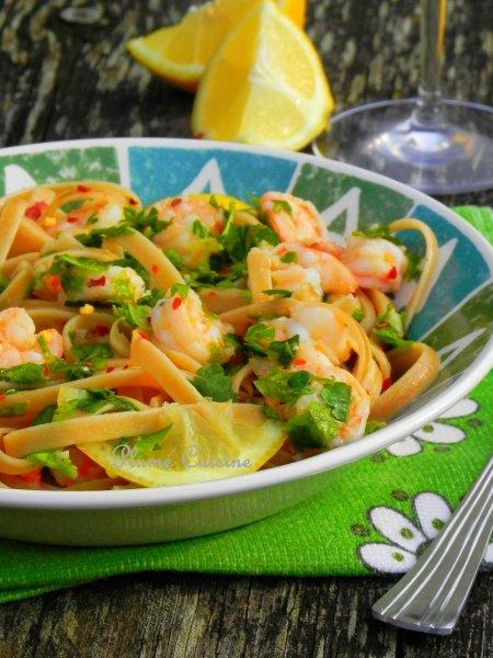 linguine ail et crevettes (27)