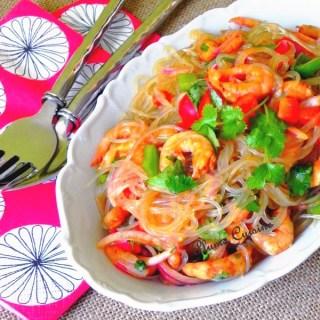 Salade-thaï-aux-crevettes