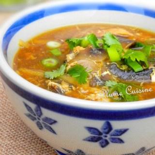 soupe poulet sichuan