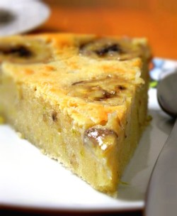 Gâteau-banane-chocolat-blanc