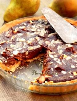 tarte chocolat poires (1)