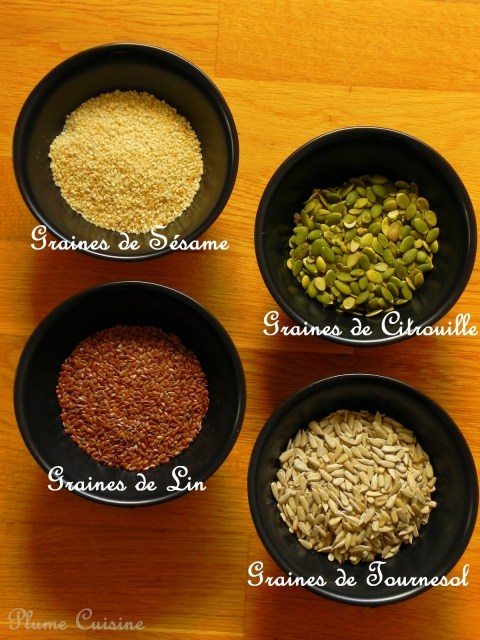 Différentes-graines-pour-biscuits-sans-gluten
