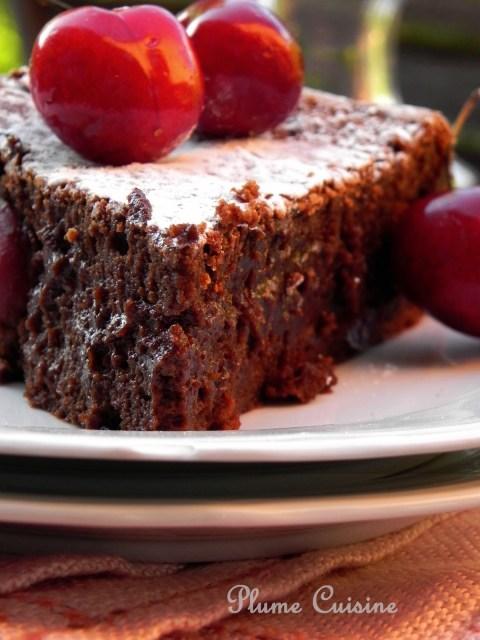 Gâteau chocolat-rhum-cerises (46)