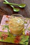 Crème glacée coco-banane-ananas