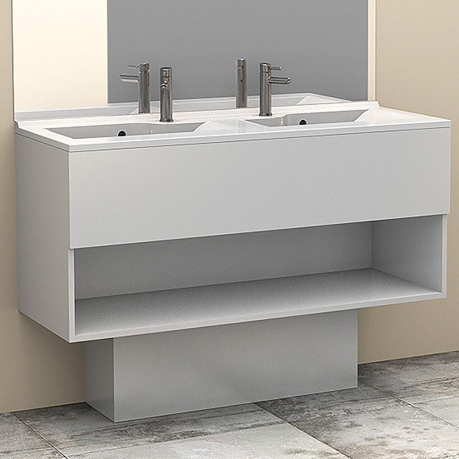 cacher tuyau salle de bain