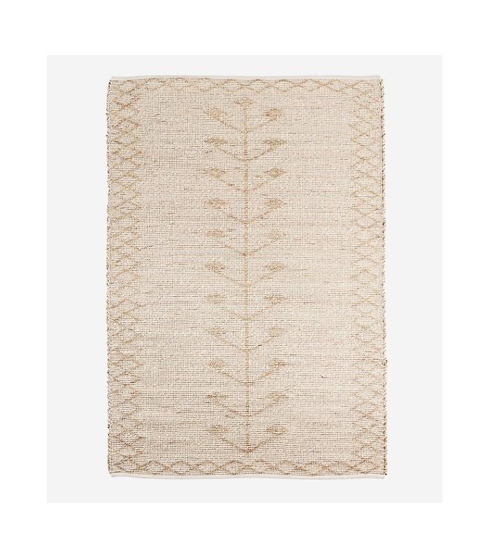 tapis jonc de mer naturel blanc 120x180 madam stoltz unetouchedesud fr