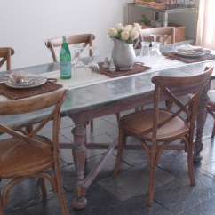 Zinc Kitchen Table Exhaust Fan Installation Tutorial Unexpected Elegance