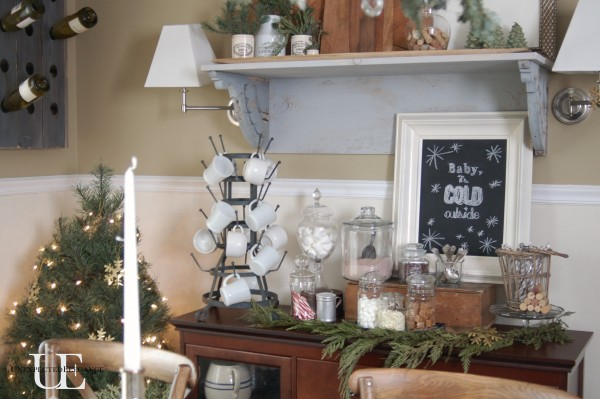 Dining room 2012 Christmas from Unexpected Elegance