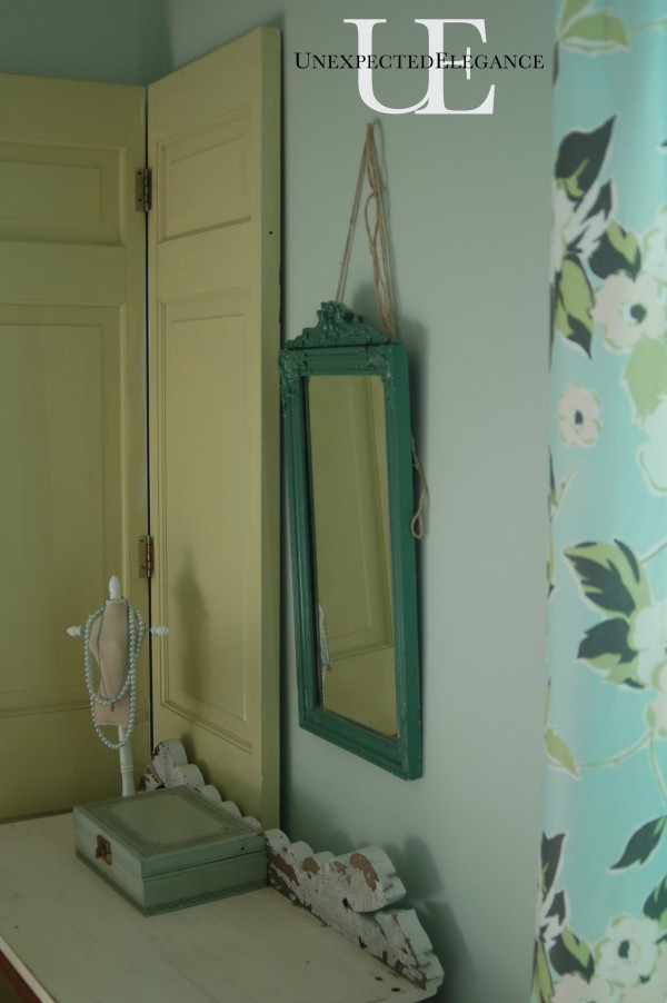 Hanging Mirror at Unexpected Elegance