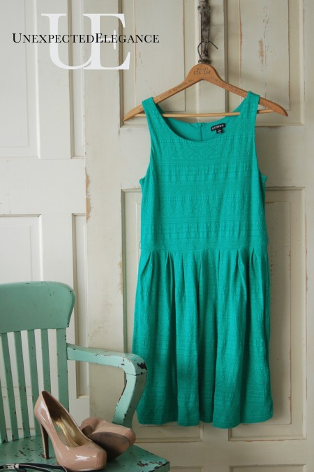 Anthro knock-off dress at Unexpected Elegance