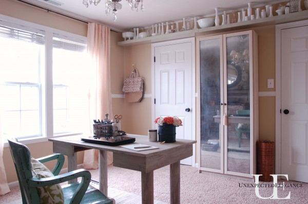 DIY Mirrored Cabinet - Unexpected Elegance