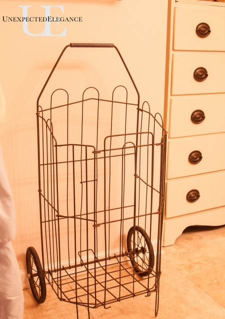Market Cart used as a hamper via Unexpected Elegance (1 of 1)