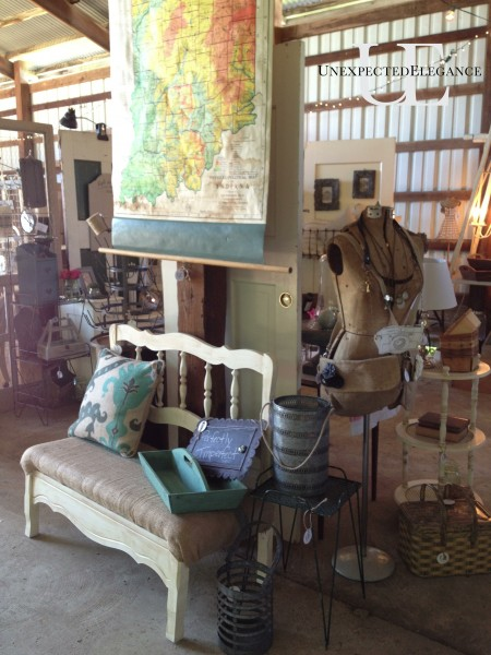 Restyled Barn Sale and Unexpected Elegance Booth Space