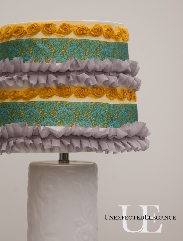 How to Add Ruffles to a Lamp Shade (1 of 1)-4