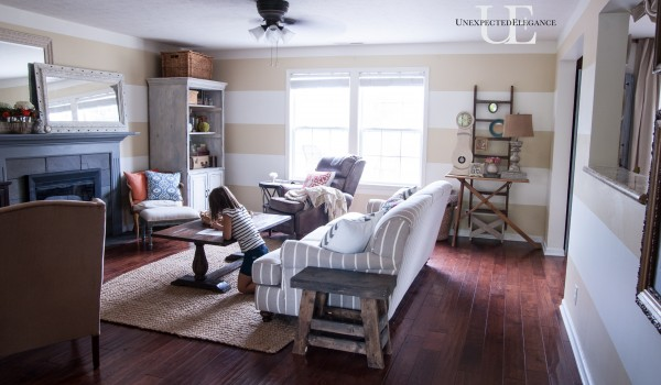 Striped Living Room Makeover (1 of 1)-13