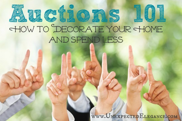 Have you ever considered going to an auction? They might seem intimidating but I have broken down all the different types and how amazing the deals can be!