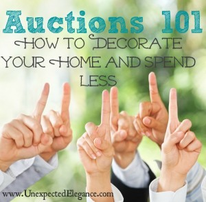 Auctions 101: How to Decorate Your Home and Spend Less