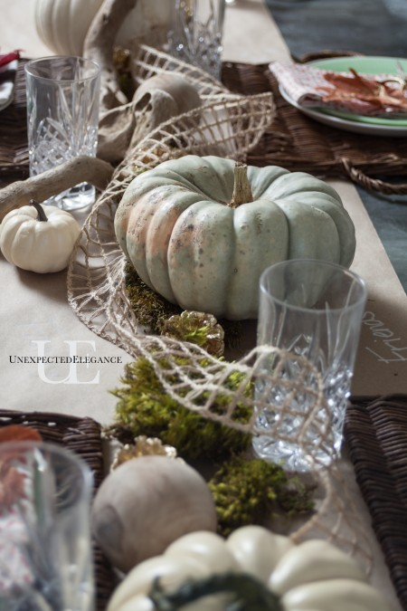 Quick and Easy Thanksgiving Table (1 of 1)