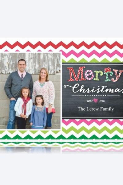 Simple Custom Photo Holiday Cards:  Tutorial