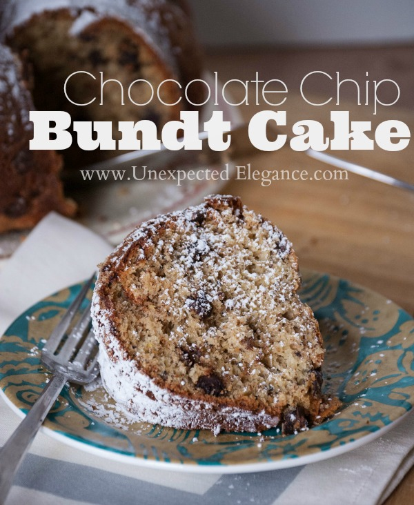 YUMMY Chocolate Chip Bundt Cake-1