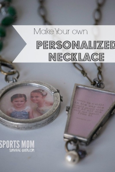 How to make your own customizeable and personalized necklace