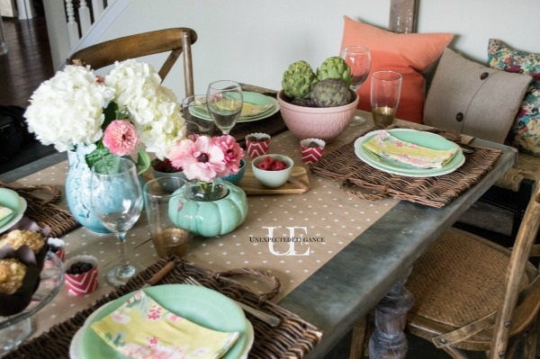 Spring Dining Room Tablescape-1-3